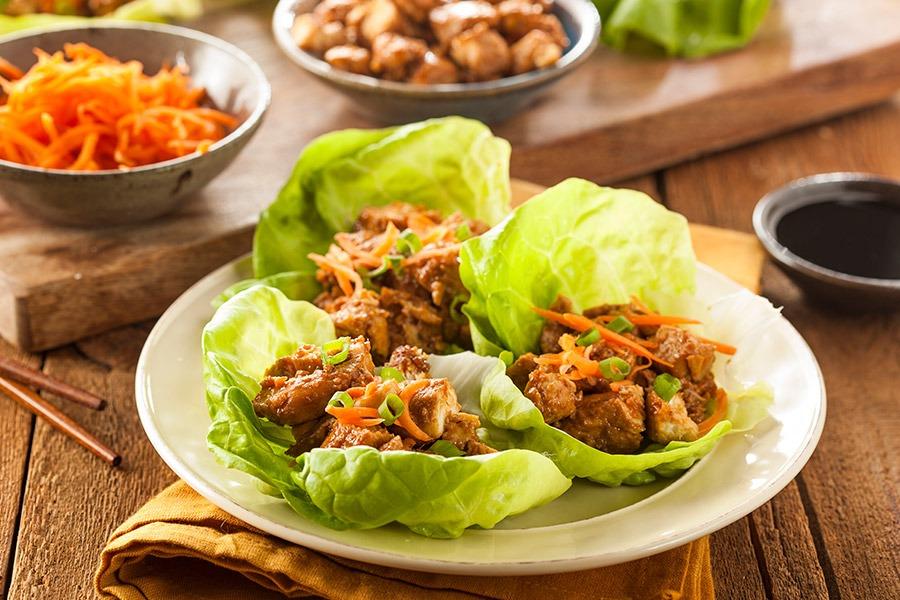 Thai-Lettuce-Wraps