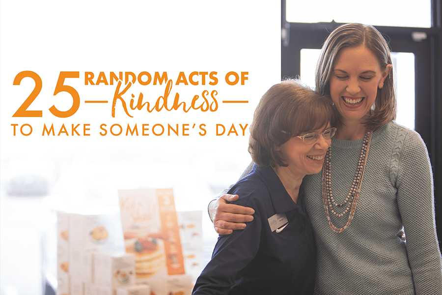 25 Random Acts of Kindness to Make Someone's Day