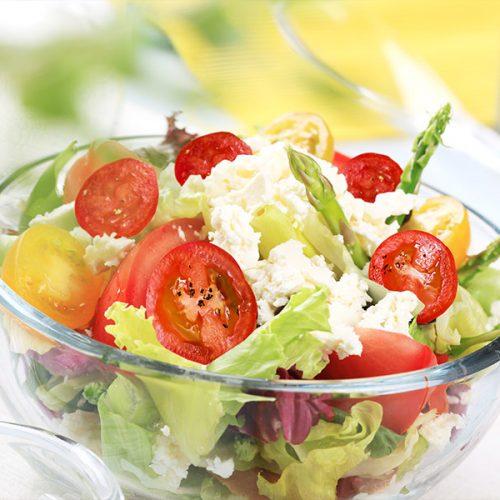 Asparagus Tomato & Feta Salad