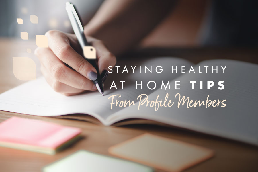 Staying Healthy at Home