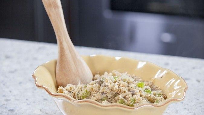 Cauliflower Rice Stuffing
