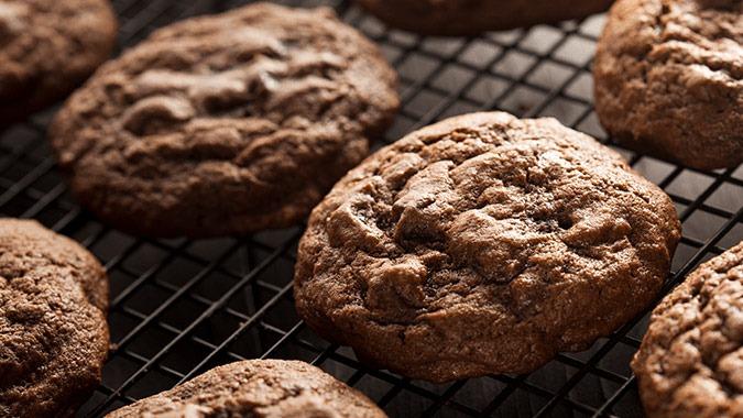 Chocolate Profile Cookies