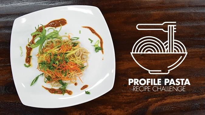 Profile Pasta Challenge - 1st Place: Thai Peanut Noodle Salad