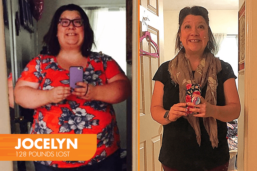 Jocelyn Lost 128 Pounds with Profile
