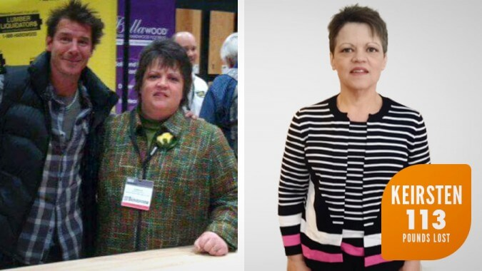 Keirsten Lost 114 pounds with Profile