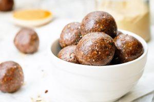 Maple Pecan Protein Balls