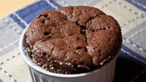 Profile Molten Chocolate Turtle Cake