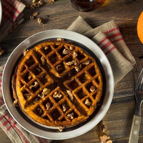 Pumpkin Pecan Waffles   Profile By Sanford