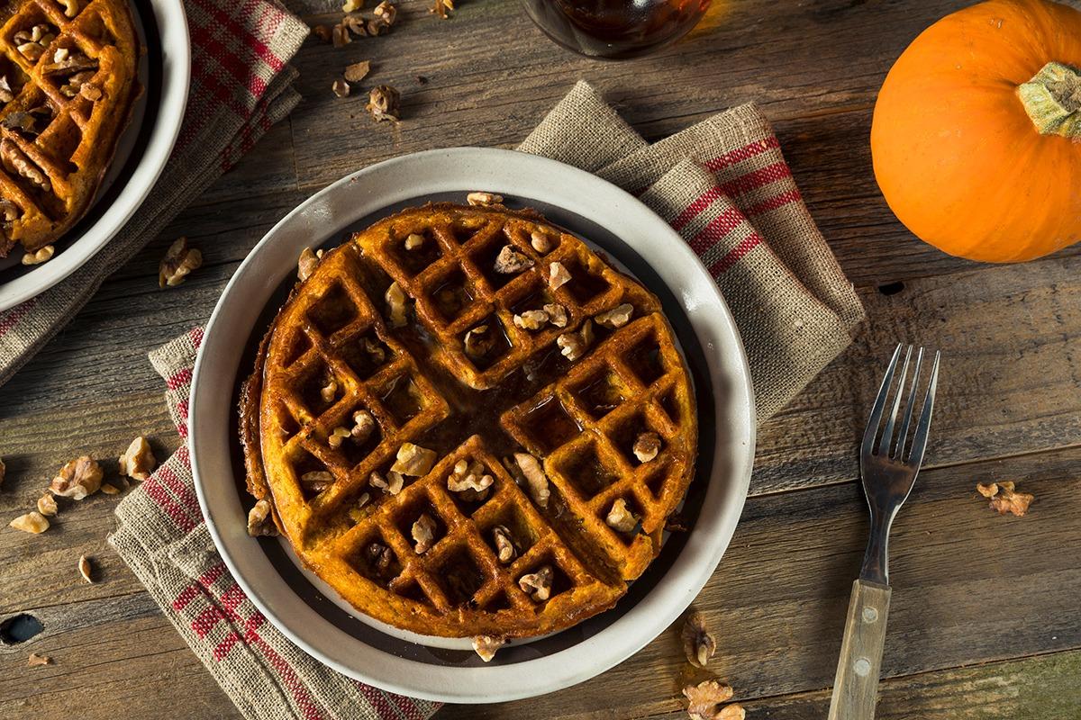 Pumpkin Pecan Waffles | Profile By Sanford