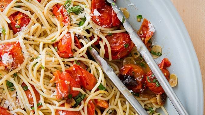 Roasted Tomato Spaghetti
