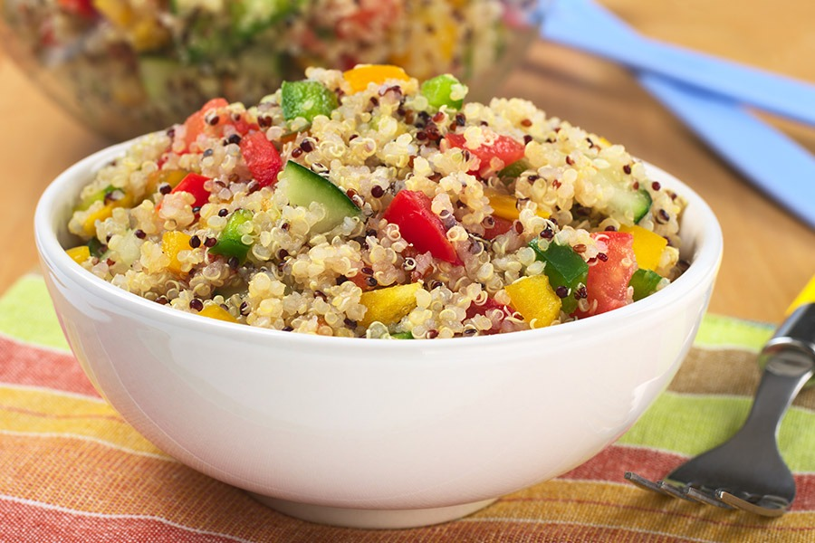 Spring Vegetable and Quinoa Salad