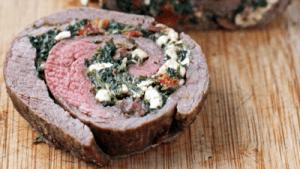 Steak Florentine Roll-Up
