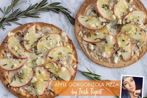 Apple Gorgonzola Pizza
