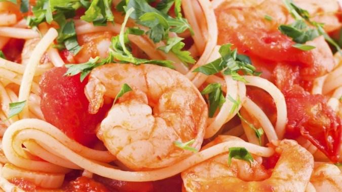 Shrimp Scampi Stir Fry