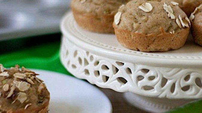 Profile Oatmeal Zucchini Muffins