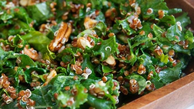 Greens and Ancient Grains Salad