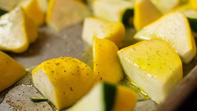 Roasted Squash With Fennel & Thyme