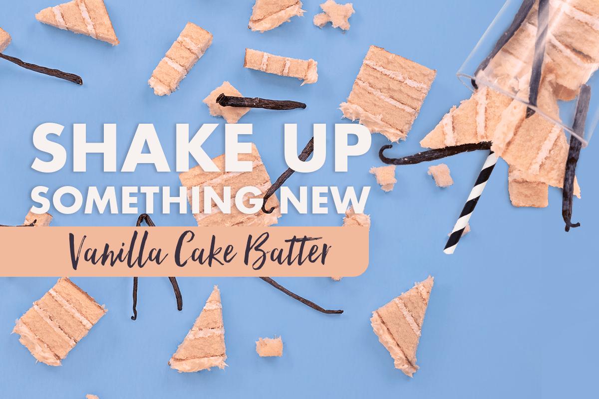 Profile Recipe Box: Vanilla Cake Batter Shake Recipes
