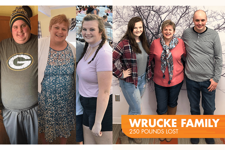 Wrucke Family lost 250 pounds on Profile