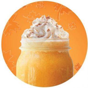 Iced Pumpkin Spice Caramel Latte